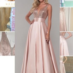 Dave & Johnny Pageant Gown